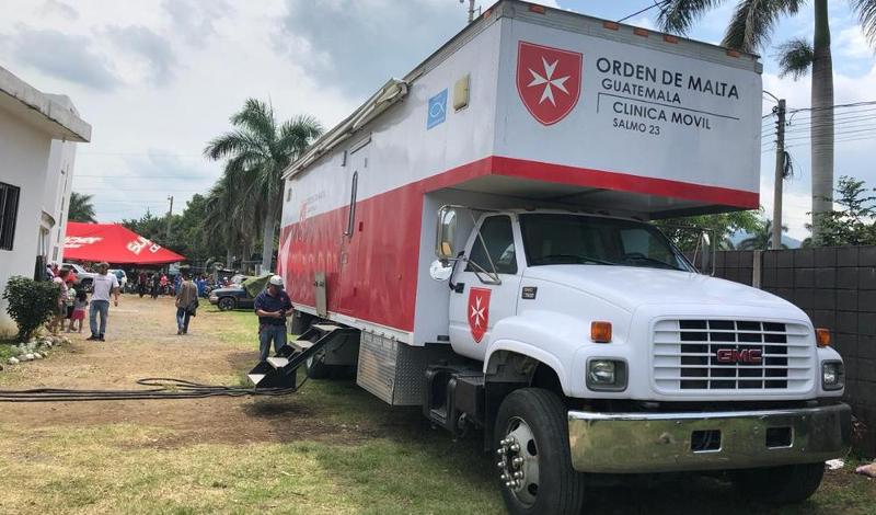 Humanitární aktivity Řádu, pomoc v krizích